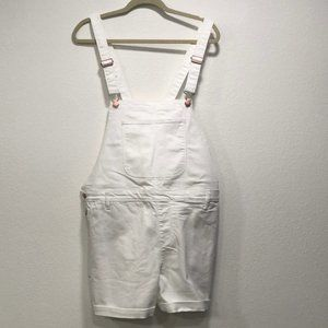 Old Navy White Overalls